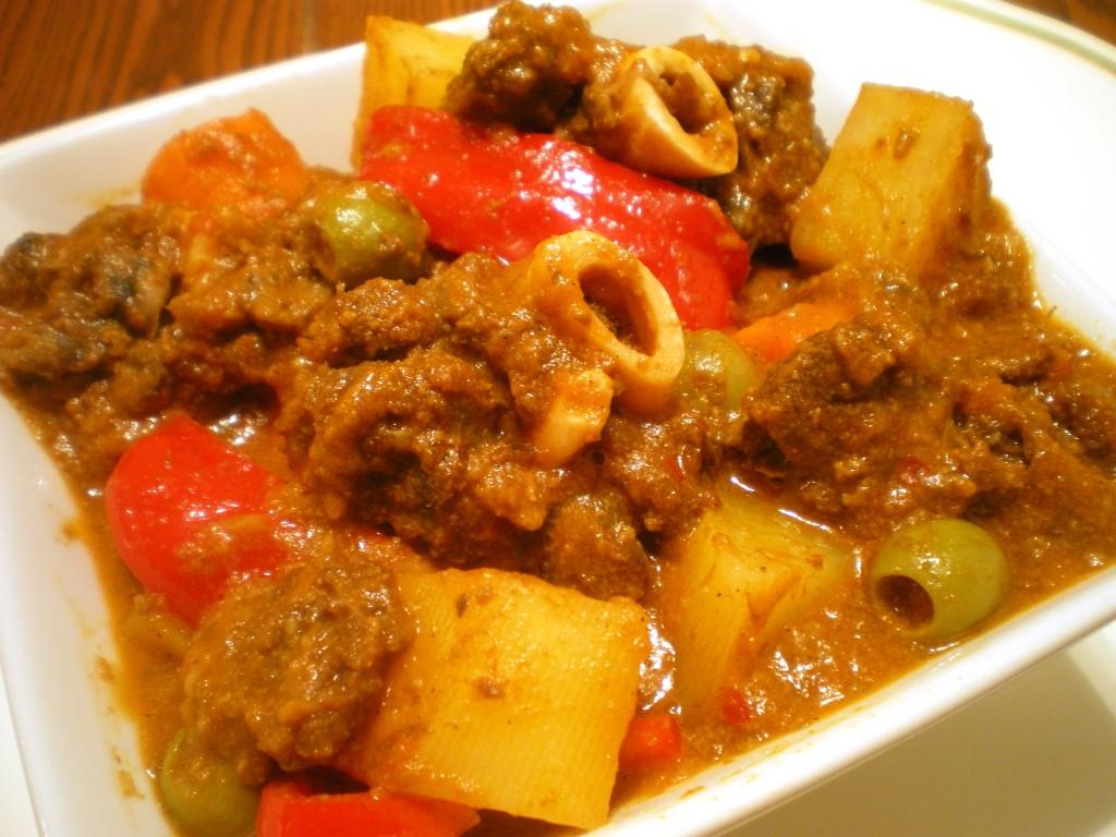 Kalderetang kambing goat stew philippines food recipes kalderetang kambing forumfinder Images