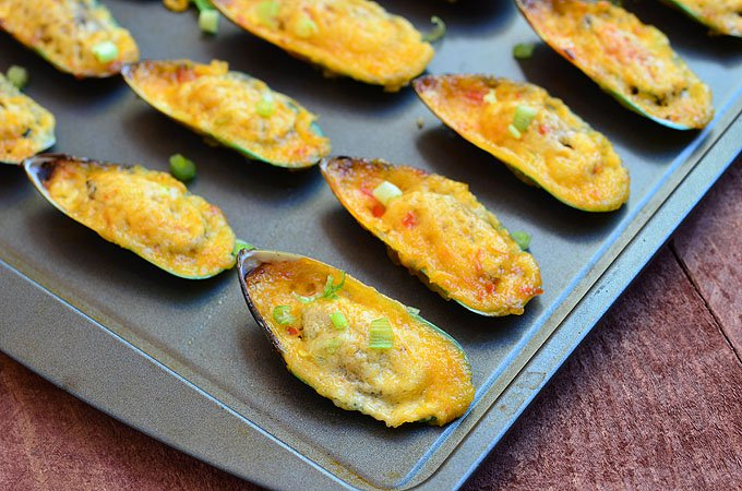 Philippines food recipes pinoy food recipes collection baked tahong with sweet chili mayo topping forumfinder Images